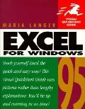 Excel for Windows 95 (Visual QuickStart Guide)