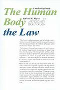 Human Body And the Law A Medico-legal Study
