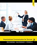 Organizational Communication for Survival (5th Edition) (Holbrook Press criminal justice ser...