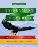 Government in America: People, Politics, and Policy, Brief Study Edition with MyPoliSciLab w...