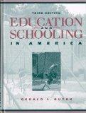Education and Schooling in America (3rd Edition)