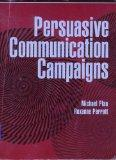 Persuasive Communication Campaigns
