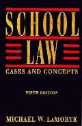 School Law Cases and Concepts