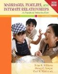 Marriages, Families, and Intimate Relationships Census Update, Books a la Carte Plus MyFamil...