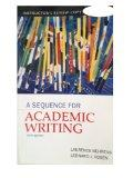A Sequence for Academic Writing: Instructor's Review (5th Edition, 2012)