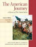 American Journey, The, Concise Edition, Volume 1 Plus NEW MyHistoryLab with eText -- Access ...