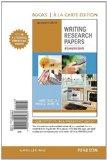 Writing Research Papers: A Complete Guide, Books a la Carte Edition (14th Edition)