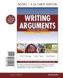 Writing Arguments: A Rhetoric with Readings, Books a la Carte Edition (9th Edition)