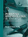 Personnel Admin.in Education