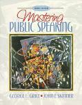 Mastering Public Speaking...text Only