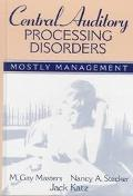 Central Auditory Processing Disorders Mostly Management
