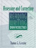 ASSESSING & CORRECTING READING & WRITING DIFFICULTIES