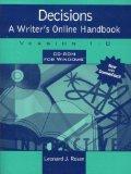 Decisions: A Writer's Online Handbook, Version 1.0 for Windows