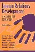 Human Relations Development A Manual for Educators