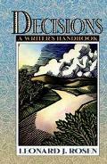Decisions:writer's Handbook