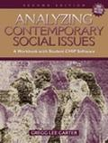 Analyzing Contemporary Social Issues A Workbook With Student Chip Software
