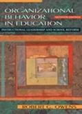 Organizational Behavior in Education Instructional Leadership and School Reform