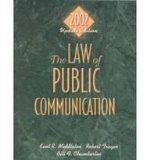 Law of Public Communication 2002 Update