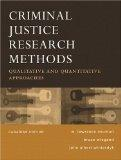 Criminal Justice Research Methods Canadian Edition
