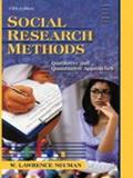 Social Research Methods Qualitative and Quantitative Approaches