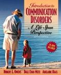 Introduction to Communication Disorders A Life Span Perspective