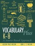 Vocabulary Plus K-8 A Source-Based Approach