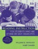 Reading Instruction for Students Who Are at Risk or Have Disabilities