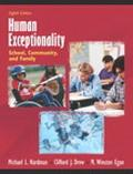 Human Exceptionality School, Community, and Family