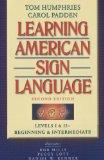 Learning American Sign Language: Levels I & II--Beginning & Intermediate, with DVD (Text & D...