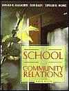 The School and Community Relations [With Access Code]