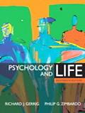 Psychology and Life (MyPsychLab Series)