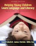 Helping Young Children Learn Language and Literacy Birth Through Kindergarten