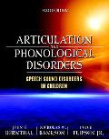 Articulation and Phonological Disorders