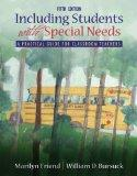 Including Students With Special Needs: A Practical Guide for Classroom Teachers (with MyEduc...
