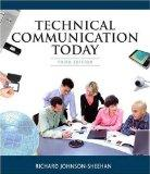 Technical Communication Today (3rd Edition)