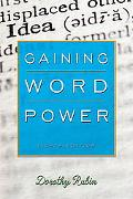 Gaining Word Power
