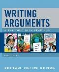 Writing Arguments: A Rhetoric with Readings (8th Edition)