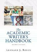 Academic Writer's Handbook, the (with MyCompLab NEW with E-Book Student Access Code Card)