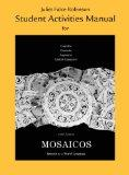 Student Activities Manual for Mosaicos: Spanish as a World Language