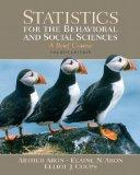 Statistics for the Behavioral and Social Sciences Value Pack (includes Study Guide and Compu...