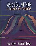 Statistical Methods in Education and Psychology