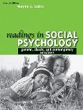Readings in Social Psychology : General, Classicnd Contemporary Selections- (Value Pack W/My...