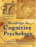 Readings In Cognitive Psychology: Applications, Connectionsnd Individual Differences- (Value...