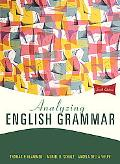 Analyzing English Grammar