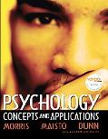 Psychology: Concepts and Applications (with Self Assessment Library 3.4)