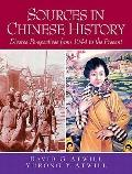 Sources In Chinese History- (Value Pack w/MySearchLab)