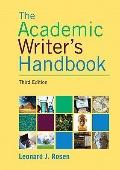 Academic Writer's Handbook (3rd Edition)