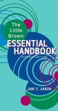 Little, Brown Essential Handbook (7th Edition)