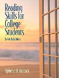 Reading Skills for College Students (with MyReadingLab Student Access Code Card)