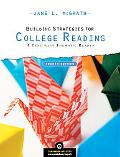 Building Strategies for College Reading: A Text with Thematic Reader (with MyReadingLab Stud...